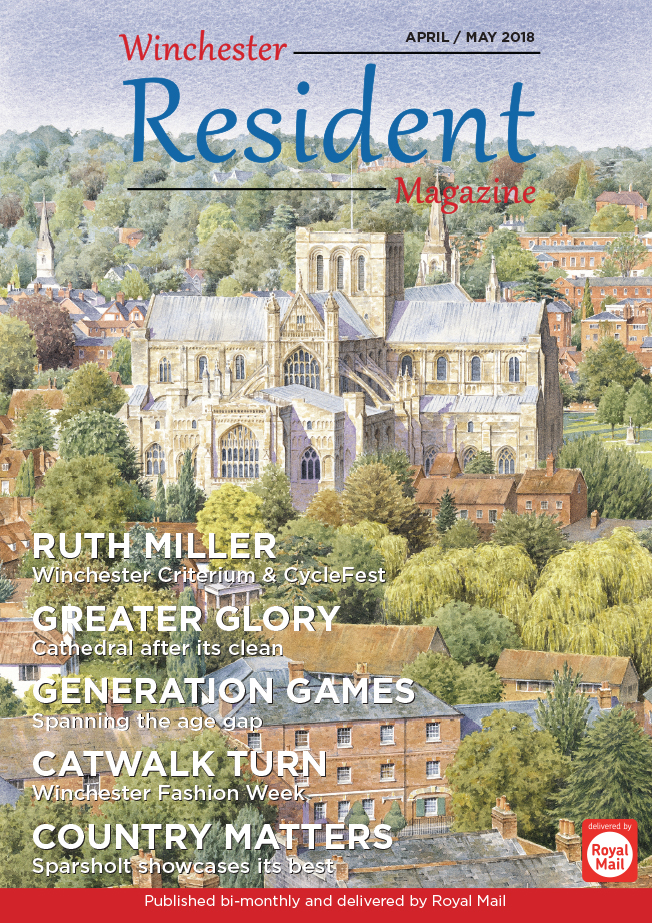 WINCHESTER RESIDENT APRIL MAY FRONT